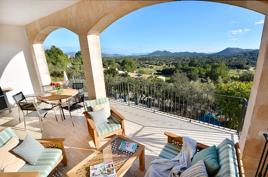 Villa Golf Pollensa feng shui optimized